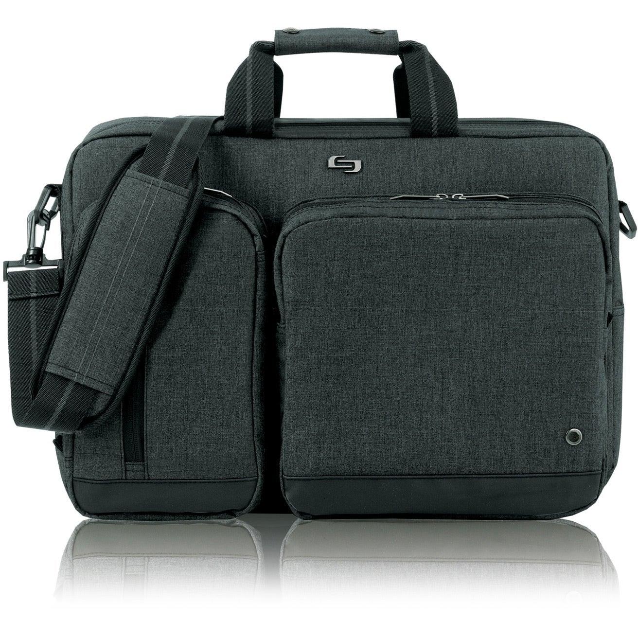 Gray Solo Urban Hybrid Briefcase For Advertising