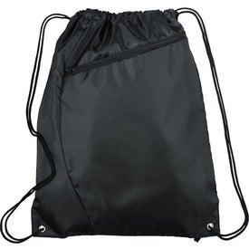 Sonar Drawstring Cinch Backpack for your School