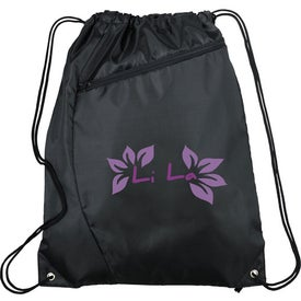 Sonar Drawstring Cinch Backpack with Your Logo