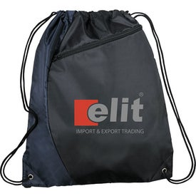 Sonar Drawstring Cinch Backpack Branded with Your Logo