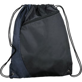Sonar Drawstring Cinch Backpack for Advertising