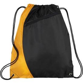 Custom Sonar Drawstring Cinch Backpack