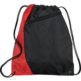 Sonar Drawstring Cinch Backpack Giveaways