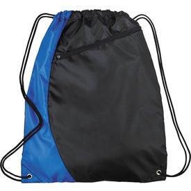 Sonar Drawstring Cinch Backpack for Promotion
