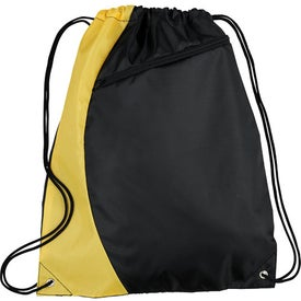 Sonar Drawstring Cinch Backpack for your School