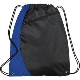 Promotional Sonar Drawstring Cinch Backpack