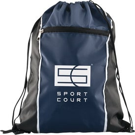 Spirit Drawstring Backpack Imprinted with Your Logo