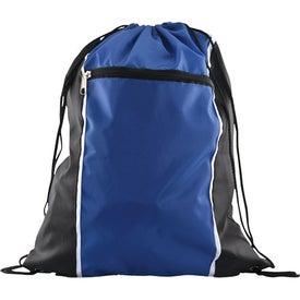 Branded Spirit Drawstring Backpack