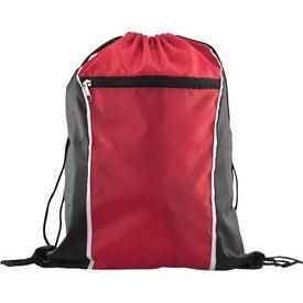 Printed Spirit Drawstring Backpack