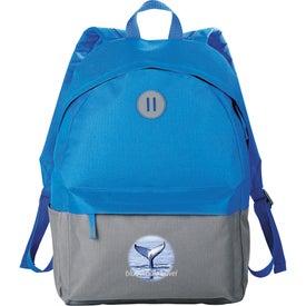 Printed Split Decision Backpack