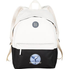 Split Decision Backpack with Your Slogan