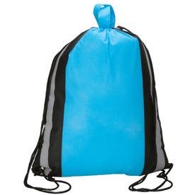 Monogrammed Drawstring Sport Bag