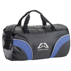 Branded Sport Duffel Bag