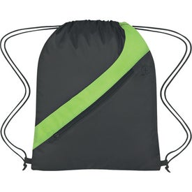 Sports Pack With Accent Stripe Printed with Your Logo