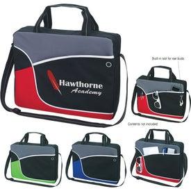Sportage Briefcase/Messenger Bag with Your Slogan