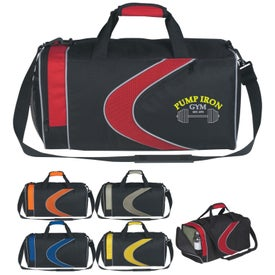 Logo Sports Duffel Bag