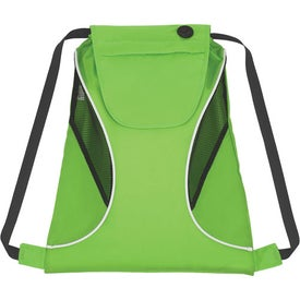 Sports Pack with Mesh Sides Imprinted with Your Logo