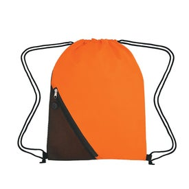 Advertising Sports Pack With Outside Mesh Pocket