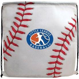 Logo Sports Style Drawstring Backpack