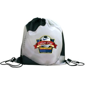 Sports Style Drawstring Backpacks (Full Color Logo)