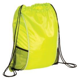 Monogrammed Sportsman String A Sling Backpack