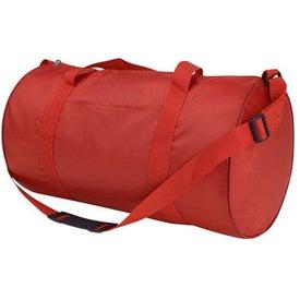 Monogrammed Sportster Duffel Bag