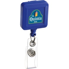 Square Retractable Badge Holders for Your Company