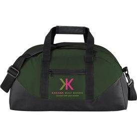 Logo The Stadium Duffel Bag