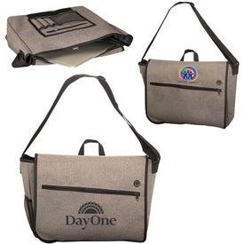 Strand Messenger Bag with Laptop Sleeve