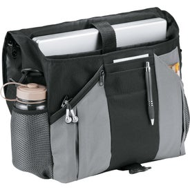 Personalized Stretch Compu-Messenger Bag