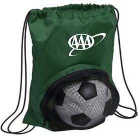 Striker Nylon Drawstring Backpack for Marketing