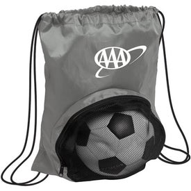 Striker Nylon Drawstring Backpack for Your Church