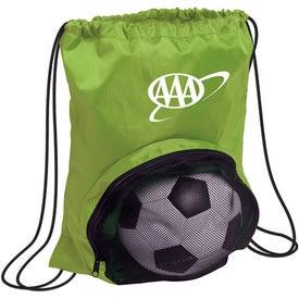 Customized Striker Nylon Drawstring Backpack