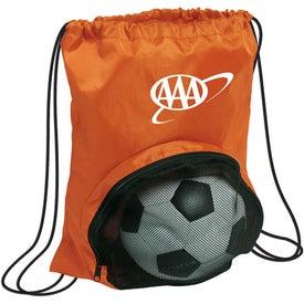 Company Striker Nylon Drawstring Backpack