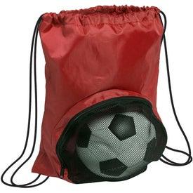 Striker Nylon Drawstring Backpack Giveaways