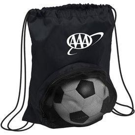 Striker Nylon Drawstring Backpack