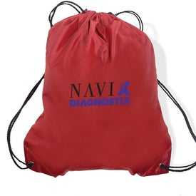 Personalized String A Sling Backpack