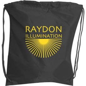 String Backpack for Advertising