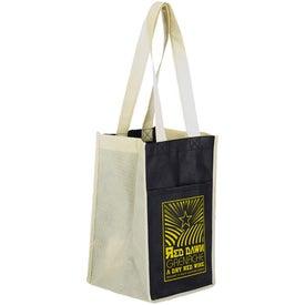 Advertising Sun Shower 4 Bottle Wine Bag