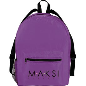 The Sun Valley Backpack with Your Slogan