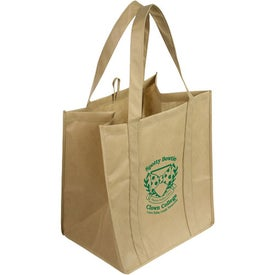 Sunbeam Jumbo Shopping Bag with Your Logo