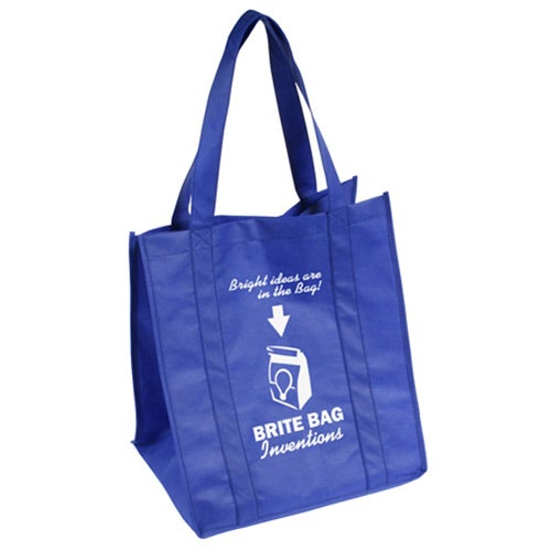 Blue Sunbeam Jumbo Shopping Bag