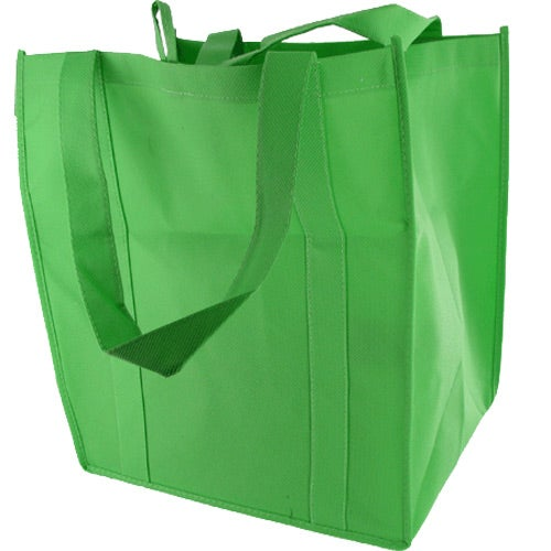 Promotional Sunbeam Jumbo Shopping Bags with Custom Logo for $1.32 Ea.