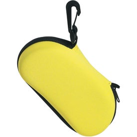 Sunglass Case with Clip for Marketing