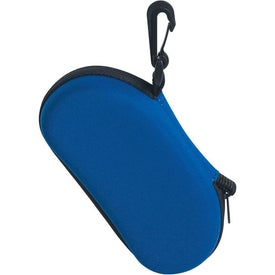 Personalized Sunglass Case with Clip