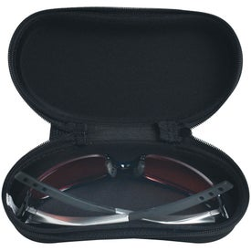 Sunglass Case with Clip for Customization