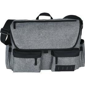 """Sutter 17"""" Computer Messenger Bag"""