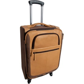Switzer Canyon Leather Rolling Carry-On Luggage
