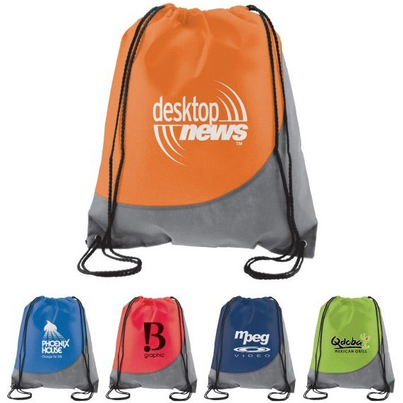 Swoosh Non-Woven Drawstring Backpack