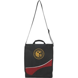 Swoosh Flap Messenger Bag for Your Company